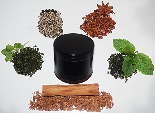 TGproducts-4-Piece-Herb-2-Inch-Aluminum-Sleek-Black