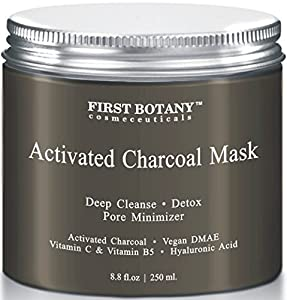 The BEST Facial Mask - Best for Facial Treatment, Minimizes Pores & Reduces Wrinkles, Acne Scars, Blackheads & Cellulite - Great as Face Mask & Body Cleanse