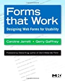 Book cover for Forms that Work: Designing Web Forms for Usability