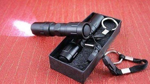 Emergency Tactical EDC Flashlight/torch, Black