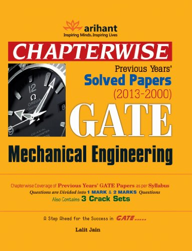 Chapterwise Previous Years Solved Papers (2013-2000) GATE  Mechanical Engineering