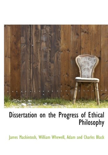 Dissertation on the Progress of Ethical Philosophy