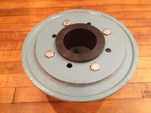 Luxe inch cast iron shower drain base with rubber gasket new