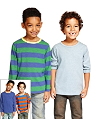 4 Pack Striped T-Shirts