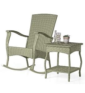 Amazon Outdoor Indoor Wicker Rocking Chair With