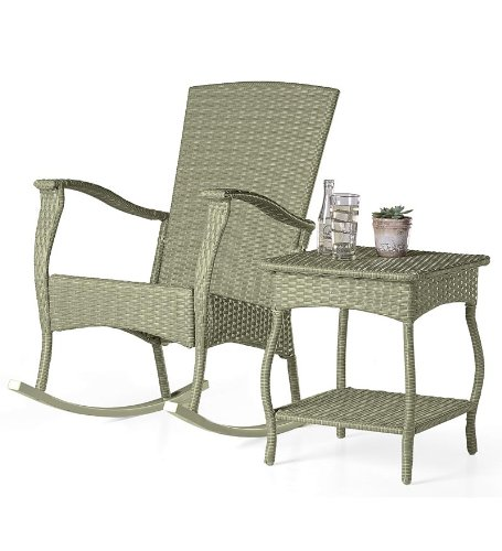 Rocking Chair Wicker front-924299
