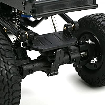 (Ship from USA) Losi LOSB0238 Silver 1/24 Micro 4X4 Trail Trekker RTR Truck w/ Radio 2x Battery