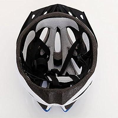 IREALIST Eco-Friendly Super Light Integrally Bike Helmet,Adjustable Lightweight Mountain Road Bike Helmets for Men and Women by IREALIST