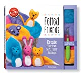 img - for Felted Friends: Create your own soft, fuzzy animals (Klutz) book / textbook / text book