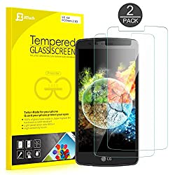 LG G3 Screen Protector, JETech 2-Pack Premium Tempered Glass Screen Protector Film for LG G3 LGG3 T-moible Sprint ATT Verizon