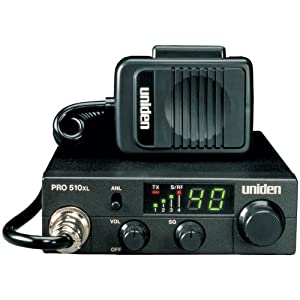 UNIDEN PRO510XL 40-CHANNEL COMPACT CB RADIO UNIDEN PRO510XL 40-CHANNEL COMPACT CB RADIO