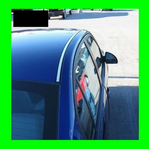 2007-2012 MITSUBISHI GALANT CHROME ROOF TRIM MOLDINGS 2PC 2008 2009 2010 2011 07 08 09 10 11 12 (Mitsubishi Galant Roof Trim compare prices)