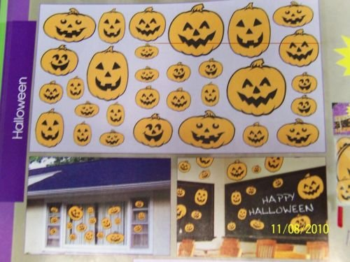 [Pumpkins Halloween Party Decoration Value Pack Cutouts] (Halloween Cut Out Patterns For Pumpkins)