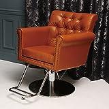 < エトゥベラ > スタイリングチェア ロイヤル RO-992 ライトブラウン [ チェア 椅子 イス セットチェア セット椅子 セットイス カットチェア カット椅子 カットイス 美容室椅子 美容室 美容師 ]
