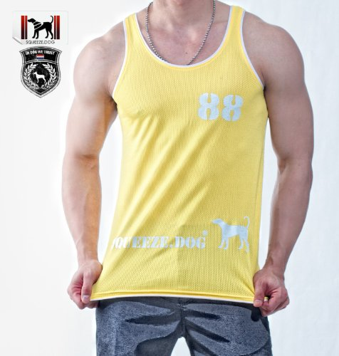 Thomas 88 Printed SQUEEZE.DOG Tank Top