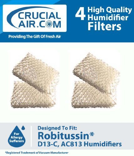 4-robitussin-humidifier-replacement-wick-filter-compare-to-part-ac-813-ac813-ac-813-d13-c-d13c-d13-c