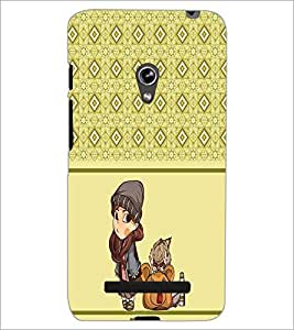 PrintDhaba Pattern D-4314 Back Case Cover for ASUS ZENFONE 5 A501CG (Multi-Coloured)