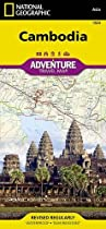 Cambodia (National Geographic Adventure Map)