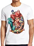 Disney Princess The Little Mermaid Ariel Tattoo T-Shirt Unisex Men Women