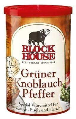 Block House - Grüner Knoblauch Pfeffer - 200 GR