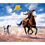 Ride Like The Wind 550pc Jigsaw Puzzle by Jack Sorenson