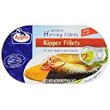 Appel Kipper Fillets (Appel Smoked Herring Fillets), 6.7-Ounce Tin (Pack of 6)