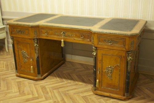 Barock-Schreibtisch-Antik-Stil-Bureau-Plat-MoAl0360