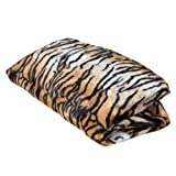 Cozy Sack Replacement Cover for Bean Bag Chair Tiger Print - Large 4'