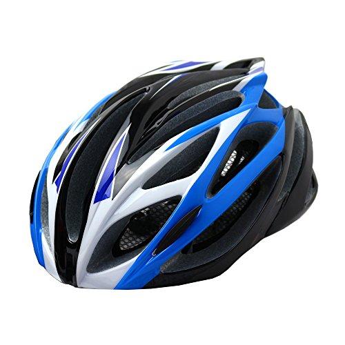 DABADA(ダバダ) 軽量 ヘルメット アジャスター付き (ブルー/ブラック)