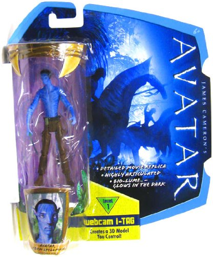Buy Low Price Mattel James Cameron's Avatar Movie 3 3/4 Inch RDA Action Figure Avatar Norm Spellman in Civilian Clothes with No Shirt Na'Vi Avatar (B0035LFO9S)