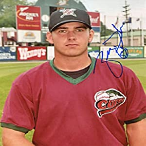 Zach Duke Autographed Signed Altoona Curve 8x10 Photo by Hollywood Collectibles