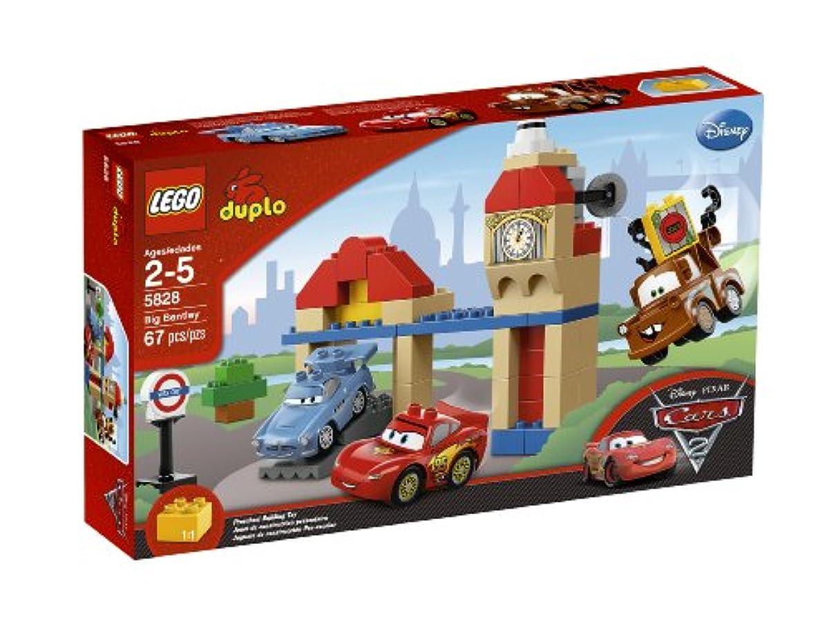 [해외] 레고 듀플로 Cars/카2 영국 국회 의사당 쟁반 5828 Cars/카2 LEGO DUPLO CARS BIG BENTLEY 5828