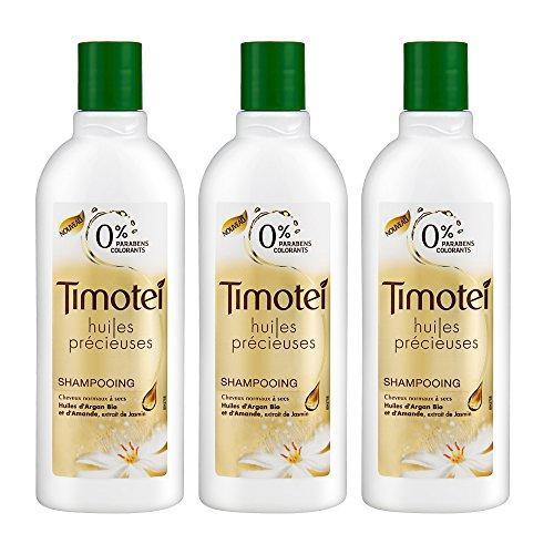 Timotei shampoo oli preziosi 300ml - Set di 3