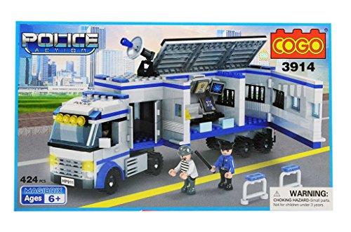 costruzioni police action 424pz cogo compatibili - mazzeo giocattoli