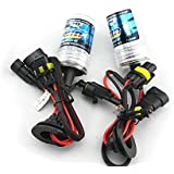 LUO 9005/HB3 6000K Xenon HID Lights Bulb lamp For Car Single Beam Replacement Headlight 35W