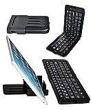 BESTEK Bluetooth キーボード 折りたたみ ワイヤレス ブルートゥースキーボード カバー スタンド付き ポータブル iPad/iPhone/Android/アンドロイド/スマホ/タブレット/パソコン適用 wireless bluetooth keyboard カバー スタンド付