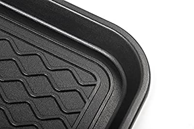"Premium Eco Friendly Multi-Purpose Boot Mat & Tray for Cat Litter, Dog Food Bowls, Paint, Shoes Gardening & More - 30""x15""x1.2"" - Indoor & Outdoor Mat for Floor Protection or Trunk Cargo - Utility Tray for Pantry, Laundry, Kitchen, Garage - By California"