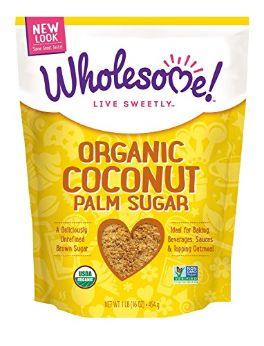 Wholesome Sweeteners Organic Coconut Sugar, 16-Ounce (Organic Caramel Sauce compare prices)
