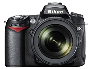 Nikon D90 12.3MP DX-Format CMOS Digital SLR Camera with 18-105 mm f/3.5-5.6G ED AF-S VR DX Nikkor Zoom Lens (OLD MODEL)