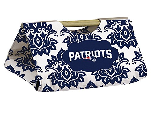 New England Patriots Damask Pattern Casserole Dish Carrier front-1025113