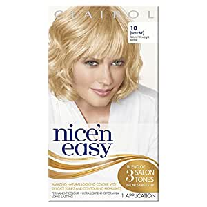 Nice'n Easy Permanent Hair Colour No. 10 Natural - Ultra Light Blonde (Former shade No. 87)