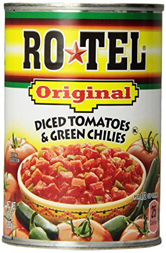 Ro-Tel Tomato & Green Chilies, Diced, 10 oz (Tomato Diced Can compare prices)
