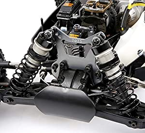 MZL Rock Crawler Large Scale Remote Car with 45cc Single-Cylinder air-Cooled Two-Stroke Four-Point Fixed Gasoline Engine 7mm Hydraulic Shock Absorption(1:5 car Model Ratio, Size:860X500X330mm)