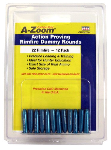 Review A-Zoom 22 Lr Action Proving Dummy Rounds (12 Pack)