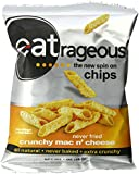 eatrageous Crunchy Mac N' Cheese, 1 Ounce (Pack of 24)