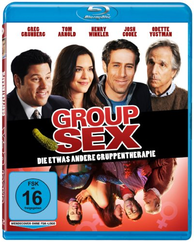 Group Sex - Die etwas andere Gruppentherapie [Blu-ray]