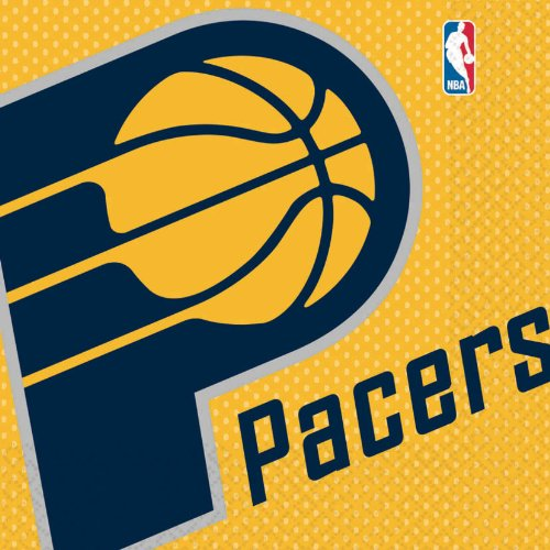 Indiana Pacers Basketball - Lunch Napkins Party Accessory