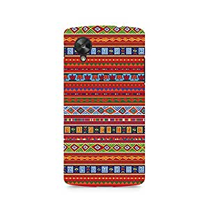 Ebby Ethnic Pattern Abstract Premium Printed Case For LG Nexus 5
