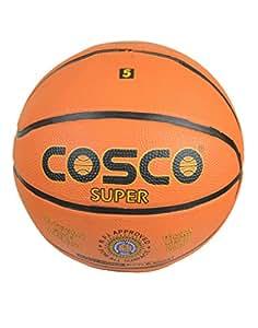 Cosco Super Basket Balls, Size 5 (Orange)
