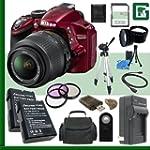 Nikon D3200 CMOS DSLR Camera with 18-...